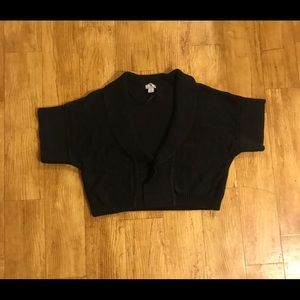Women's cropped sweater vest Large